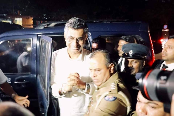 Patali Champika Ranawaka was arrested and remanded