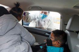 Coronavirus check in China