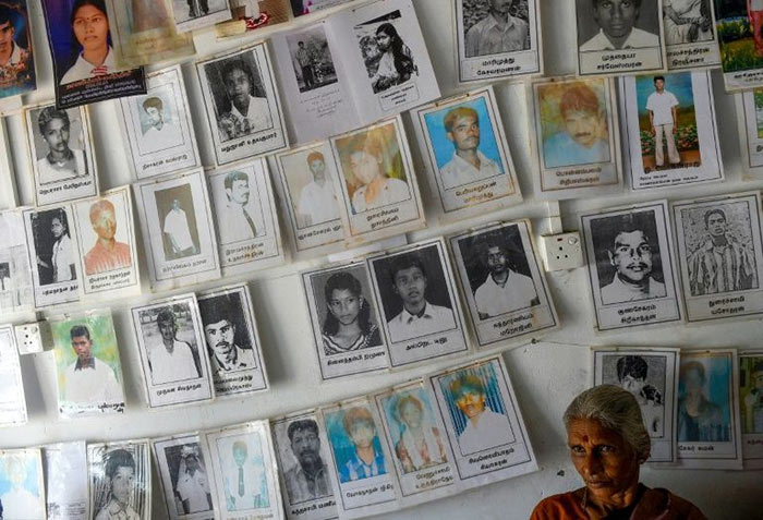 Missing Tamil people in Sri Lanka