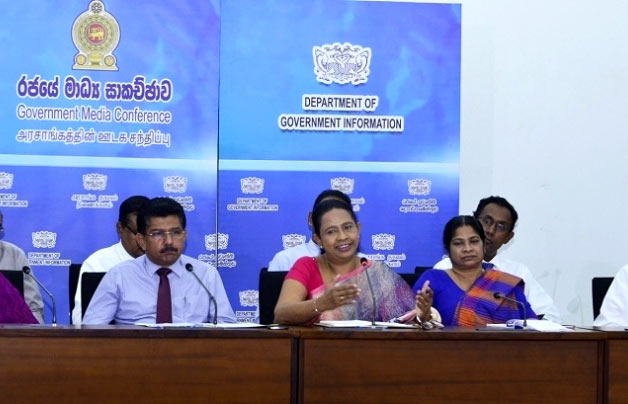 Minister Pavithra Wanniarachchi talks on Coronavirus in Sri Lanka