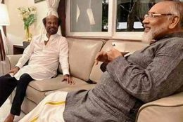 Wigneswaran and Rajinikanth on a discussion about Tamils in Sri Lanka