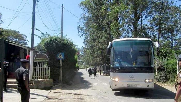 33 Sri Lankans came from Wuhan China have been quarantined at Diyatalawa