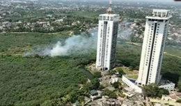 Fire in Rajagiriya