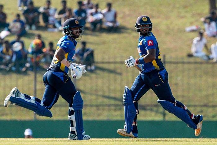 Kusal Mendis and Avishka Fernando Cricket century