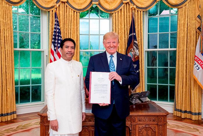 Rodney Perera - Sri Lanka Ambassador in United States