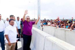 Sri Lanka President Gotabaya Rajapaksa at Matara-Hambantota extension of Southern Expressway