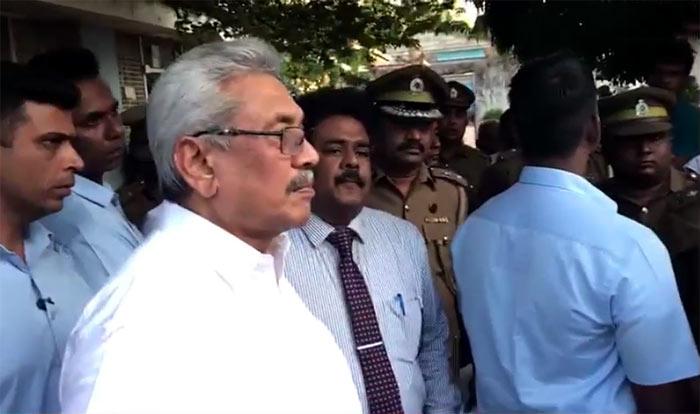 Sri Lanka President Gotabaya Rajapaksa visited the Welikada Prison