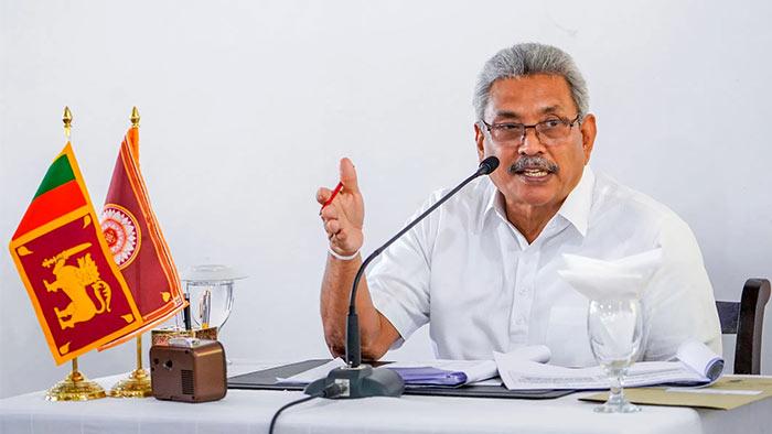 Gotabaya Rajapaksa - Sri Lanka President