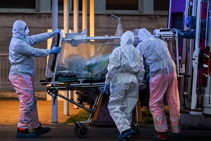 Italy coronavirus COVID-19 deaths