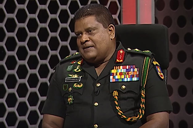 Shavendra Silva - Army Commander of Sri Lanka