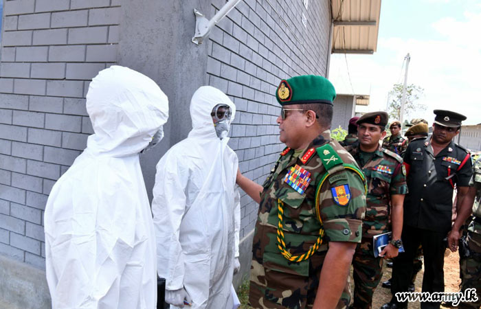 Sri Lanka security forces ready for quarantine of expatriates and foreigners