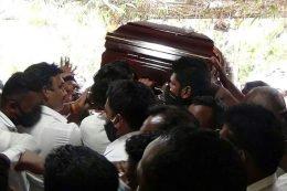 Arumugam Thondaman's funeral