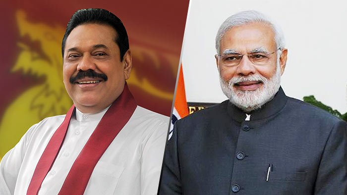 Mahinda Rajapaksa and Narendra Modi