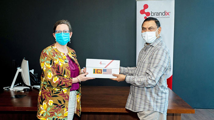 Sri Lanka begins export of 200 million face masks - Basil Rajapaksa with Alaina B Teplitz