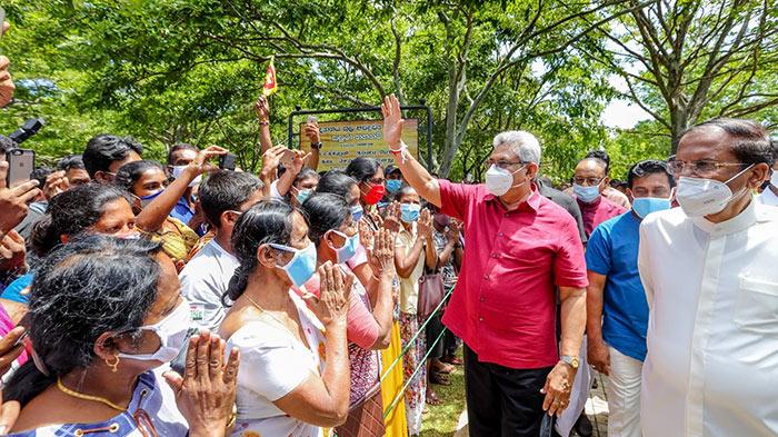 Sri Lanka President Gotabaya Rajapaksa visited Polonnaruwa