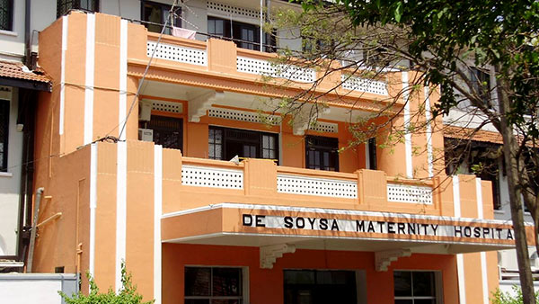 De Soysa Hospital in Colombo Sri Lanka