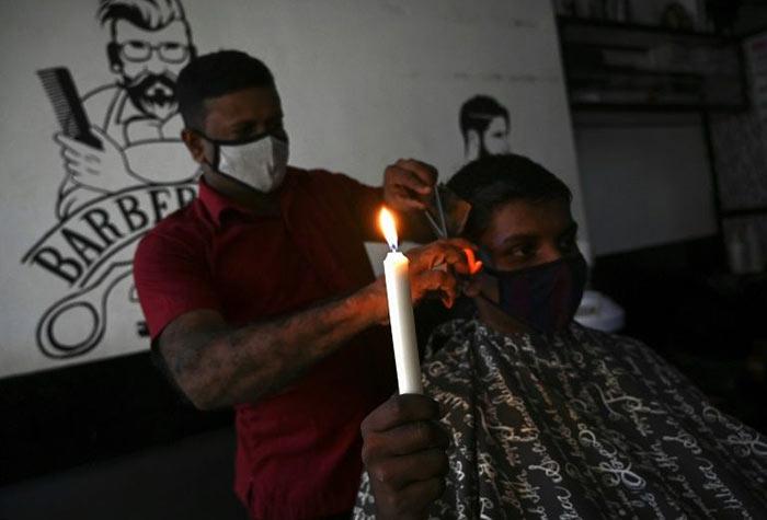 Power cut in Sri Lanka