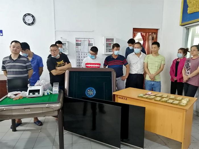 Chinese only casino den in Kollupitiya Sri Lanka raided