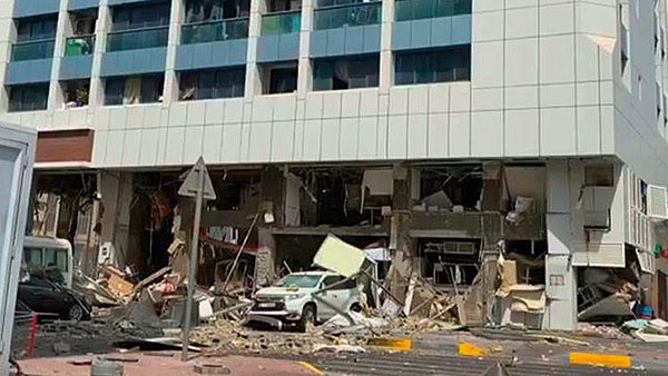 Explosion at restaurant in Abu Dhabi