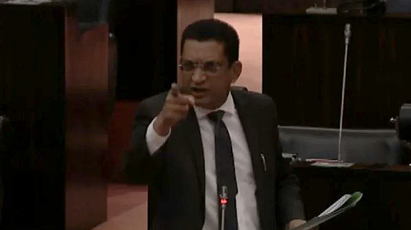 Mohamed Ali Sabry in Sri Lanka Parliament