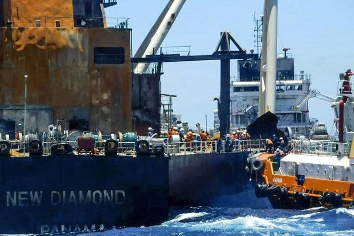 New Diamond ship Panama