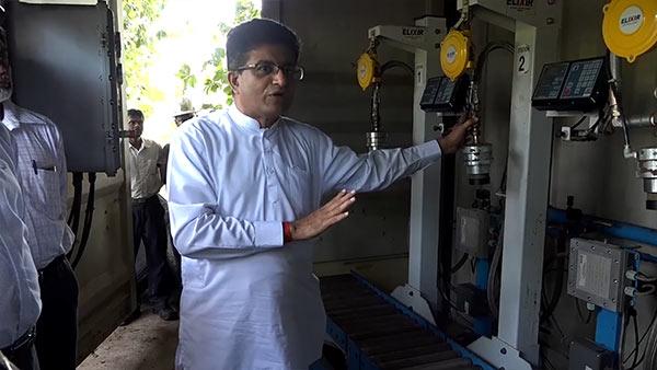 Udaya Gammanpila at Ceylon Petroleum Corporation