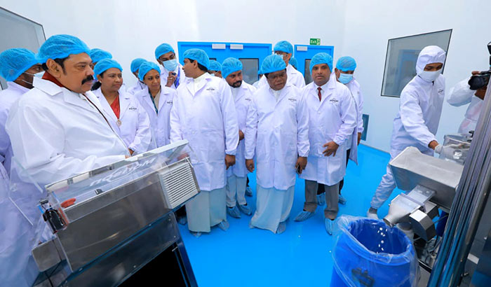 Morison opens largest pharmaceutical manufacturing facility in Sri Lanka