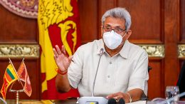 Sri Lanka President Gotabaya Rajapaksa