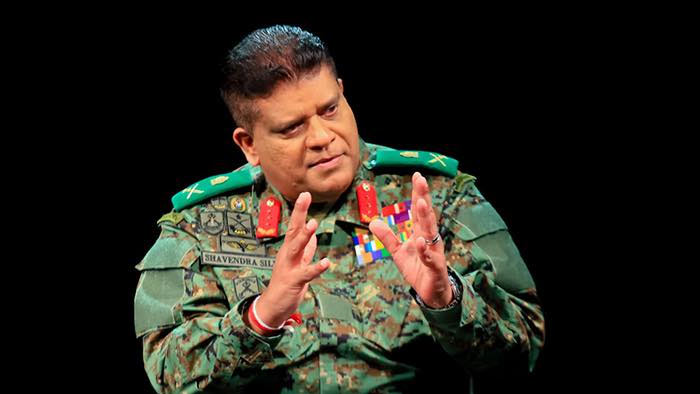 Sri Lanka Army Commander Shavendra Silva
