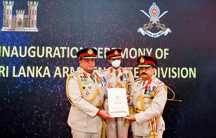 Sri Lanka Army forms new division for nation-building tasks