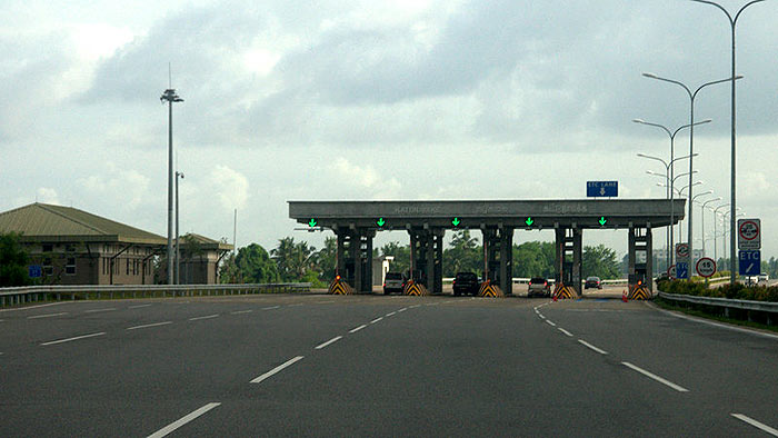 Expressway exit points
