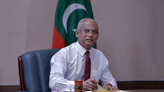 Maldives President Ibrahim Mohamed Solih