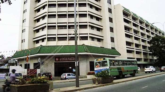 Central Mail Exchange in Colombo Sri Lanka