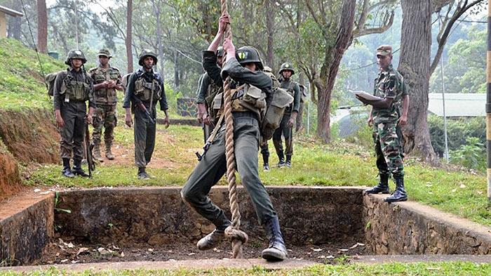 Military Training in Sri Lanka