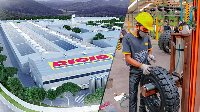 Southeast Asia's largest tyre factory RIGID tyres in Horana Sri Lanka