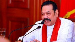 Mahinda Rajapaksa - Prime Minister of Sri Lanka