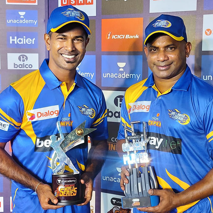 Nuwan Kulasekara and Sanath Jayasuriya