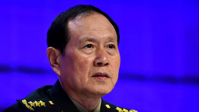 China's Defense Minister General Wei Fenghe