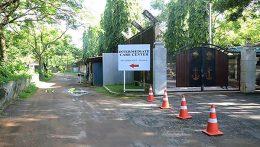 COVID-19 Care Centre in Boossa Navy camp in Galle Sri Lanka