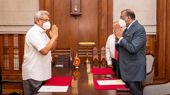 Sanjay Rajaratnam sworn in as new Attorney General of Sri Lanka