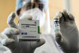 Chinese made Sinopharm vaccine in Colombo Sri Lanka