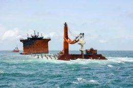 MV X-Press Pearl ship is sinking