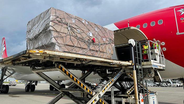 Switzerland sends Rs. 800 million worth aid to Sri Lanka to combat COVID