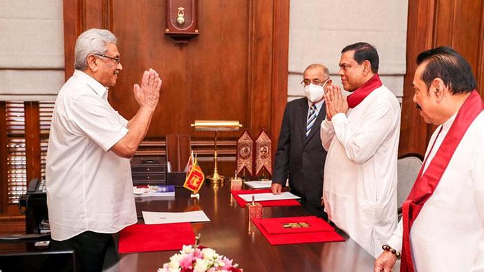 Basil Rajapaksa sworn in as Minister of Finance in Sri Lanka