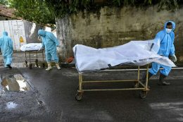 COVID-19 dead bodies in Colombo Sri Lanka