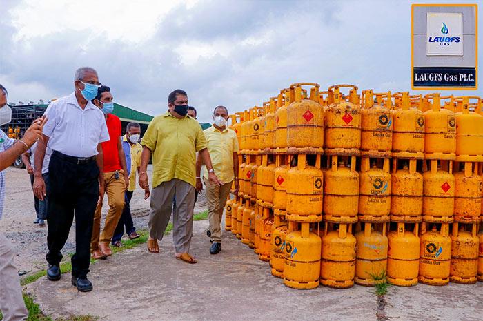 Laugfs gas inspection by Lasantha Alagiyawanna