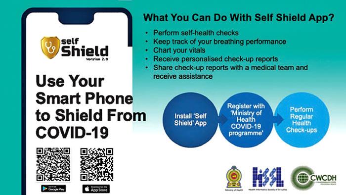 The Self Shield App in Sri Lanka