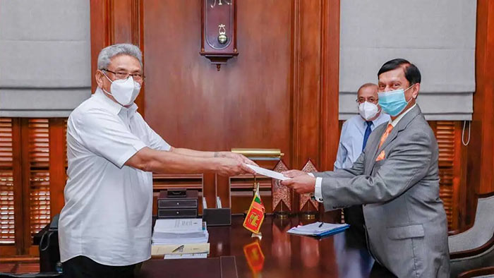 Ajith Nivard Cabraal assumes duties as the 16th Governor of the Central Bank of Sri Lanka