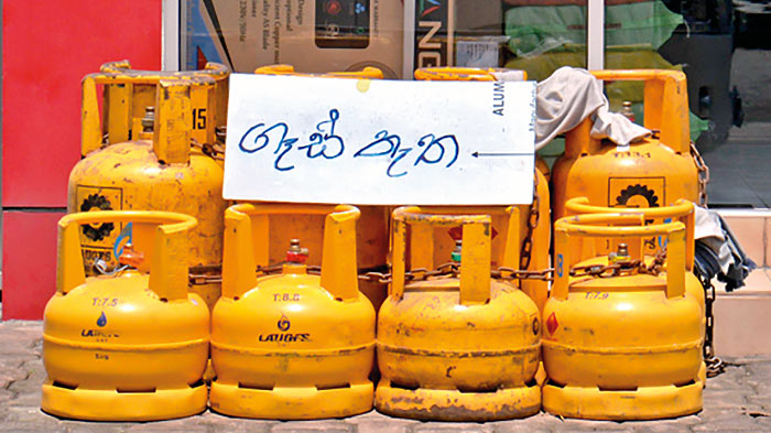 Gas shortage in Sri Lanka