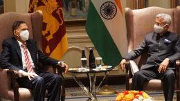 Sri Lanka Foreign Minister Professor G.L. Peiris met Indian Foreign Minister Dr. S. Jaishankar in New York